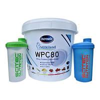Сывороточный Протеин WPC 80 Milkiland Ostrowia 7.5 кг КСБ 80% белка