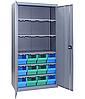 Шкаф инструментальный для контейнеров ЯШМ-18 исп.3 (1800х900х390 мм), металлический шкаф с ящиками