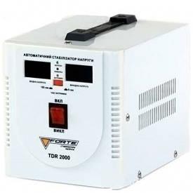 Стабилизатор релейный 2000 Вт 1Ф Forte TDR-2000VA