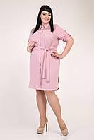 Платье женское в виде рубашки рр 54-58