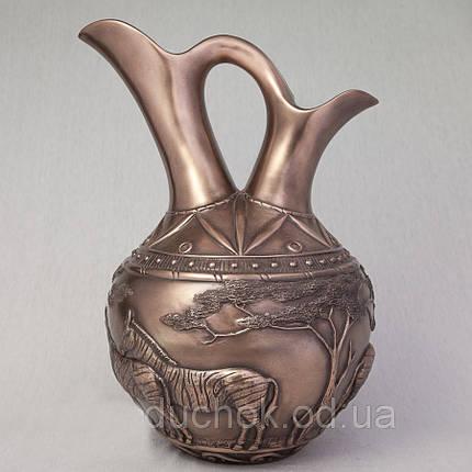 Ваза Зебры Veronese Италия (37 см) 75540V1, фото 2