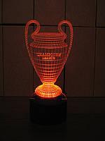 Ночник Кубок Лиги Чемпионов на батарейке Светляччок (00083)
