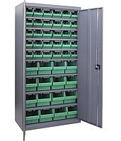 Шкаф инструментальный для контейнеров ЯШМ-18 исп.2 (1800х900х390 мм), металлический шкаф с ящиками