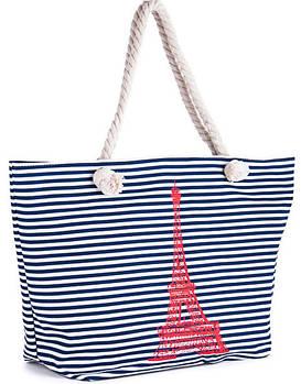 Пляжные сумки на канатных ручках