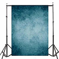 Ретро Темно-синяя тема Виниловая фотография Фон Фон для студийной фотографии 7x5ft