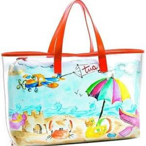 Пляжные сумки тканевые