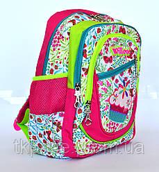 Качественный школьный рюкзак для девочки 5028