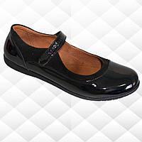 Туфли для девочки Eleven shoes LR-325.212.208, В наличии, Черный, 31