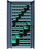 Шкаф инструментальный для контейнеров ЯШМ-14 исп.2 (1800х800х300 мм), металлический шкаф с ящиками