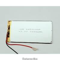 АККУМУЛЯТОР ДЛЯ ПЛАНШЕТА (LI-POL) 0450100P 3.7V 3000MAH ORIGINALsize для аккумуляторных батарей