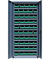 Шкаф инструментальный для контейнеров ЯШМ-14 исп.1 (1800х800х300 мм), металлический шкаф с ящиками
