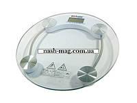 Весы напольный, электронные LIVSTAR LSU-1782 (круглая форма)