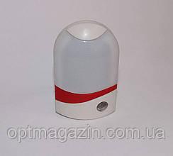 """Нічник """"Датчик"""" на фотоелементі 220V 5 LED на світлодіодах"""
