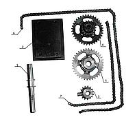 """Комплект для установки активної фрези на мінітрактор """"Преміум"""", фото 1"""