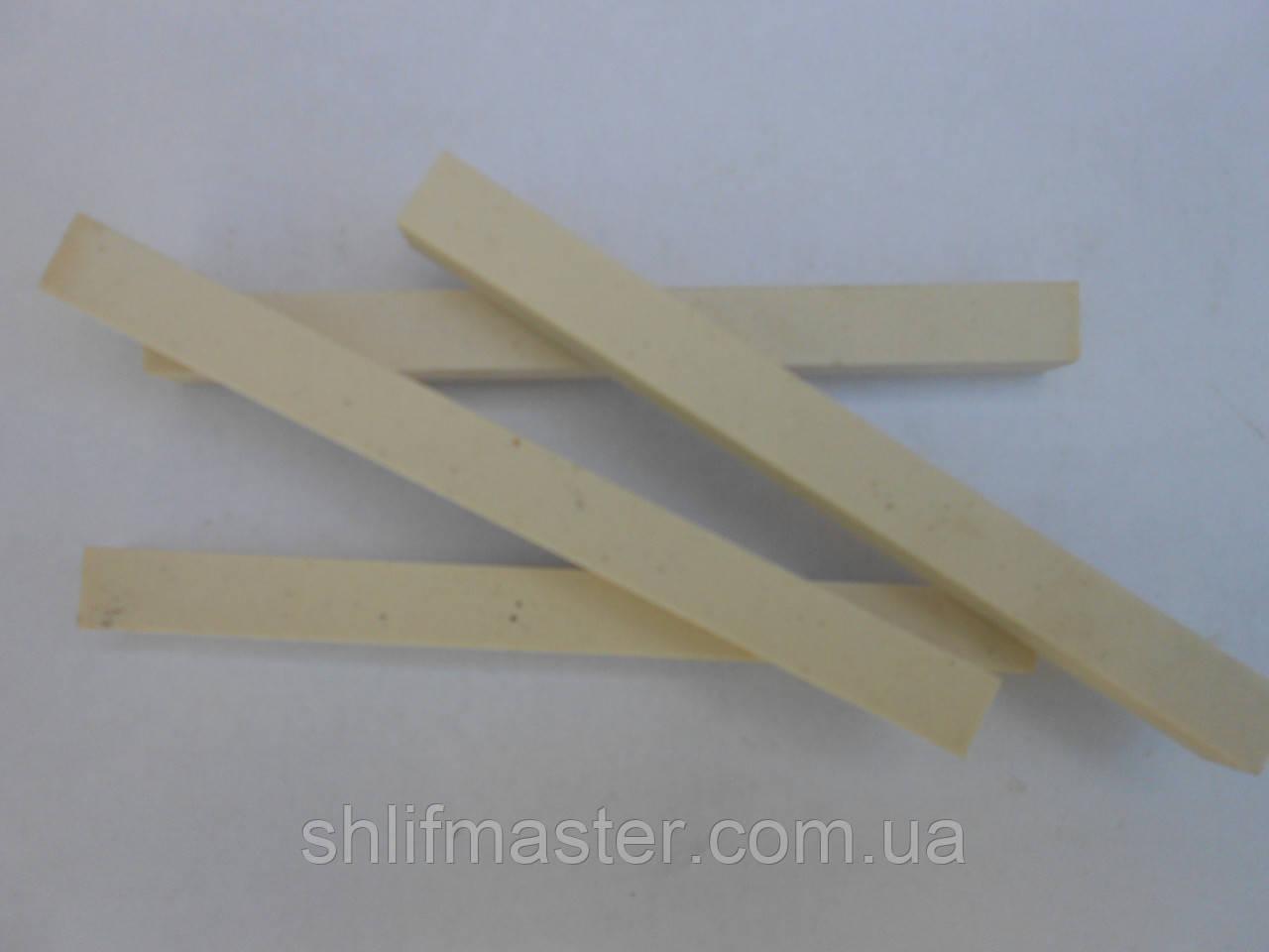 Брусок заточной абразивный 25А (электрокорунд белый) 120х10х8 8 Т