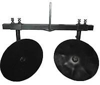 """Окучник дисковый Ø360 регулируемый на двойной сцепке """"Премиум"""", фото 1"""