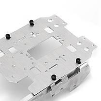 6-12V CNC Металлический робот RC Танк Гусеничный шасси Подвеска Препятствие Пересекая гусеничный ход с 4 двигателями-1TopShop, фото 3