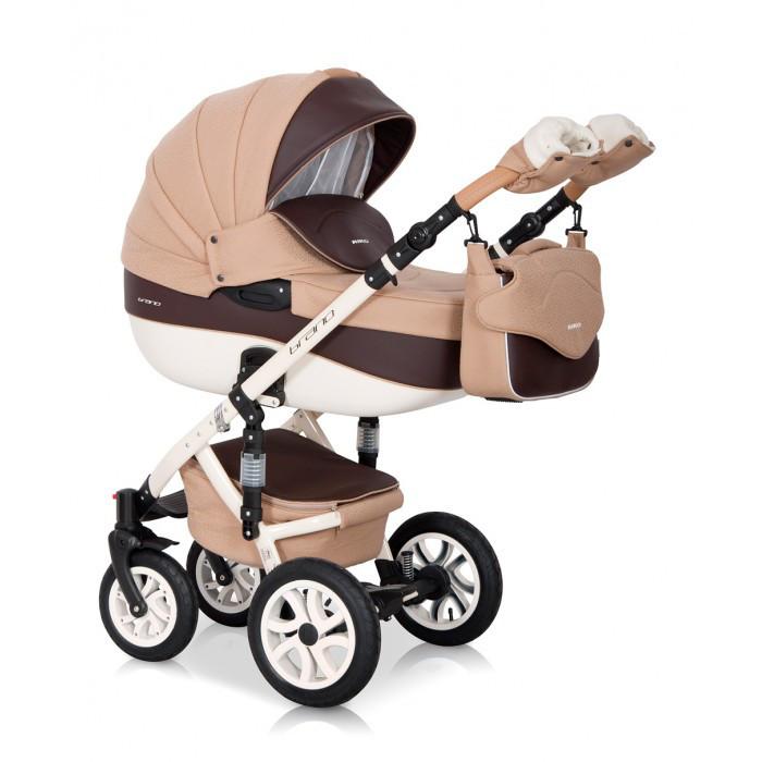 Детская универсальная коляска 2 в 1 Riko Brano Ecco 12 Caramel