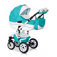 Детская универсальная коляска 2 в 1 Riko Brano Ecco 15 Malachit