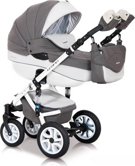 Детская универсальная коляска 2 в 1 Riko Brano Ecco 17 Stone