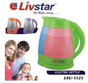 Электрический чайник LIVSTAR LSU-1121 (стекло) 1.8 л. (подсветка, 5 светодиодных ламп)