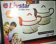 Электрочайник (керамический) LIVSTAR LSU-1162, 1,2 л.