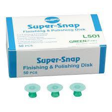 Super-Snap L501 Shofu (50 шт) фінішний двосторонній широкий диск дрібне зерно