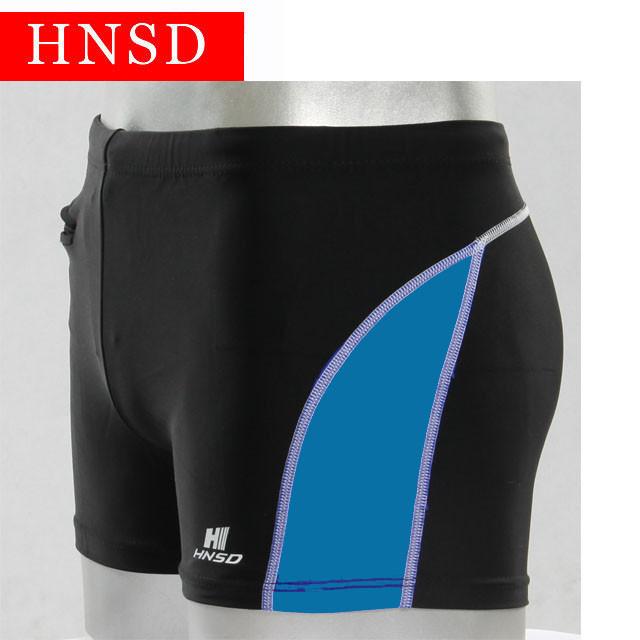 Плавки мужские купальные HNSD-2207 голубым