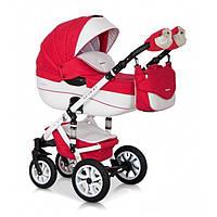 Детская универсальная коляска 2 в 1 Riko Brano Ecco 20 Sport Red