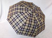 Зонт мужской полуавтомат в клетку на 9 спиц, фото 1