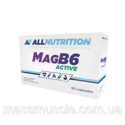 Витамины AllNutrition Mag B6 Active 30 caps