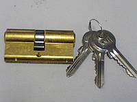 Цилиндр замка  Kale 164 GN 68 мм латунь