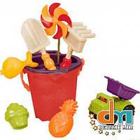 Набор для игры с песком и водой «Ведерце манго» Battat BX1331Z, В наличии
