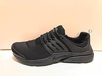 Кроссовки Nike presto найк престо черные+черные ВЬЕТНАМ