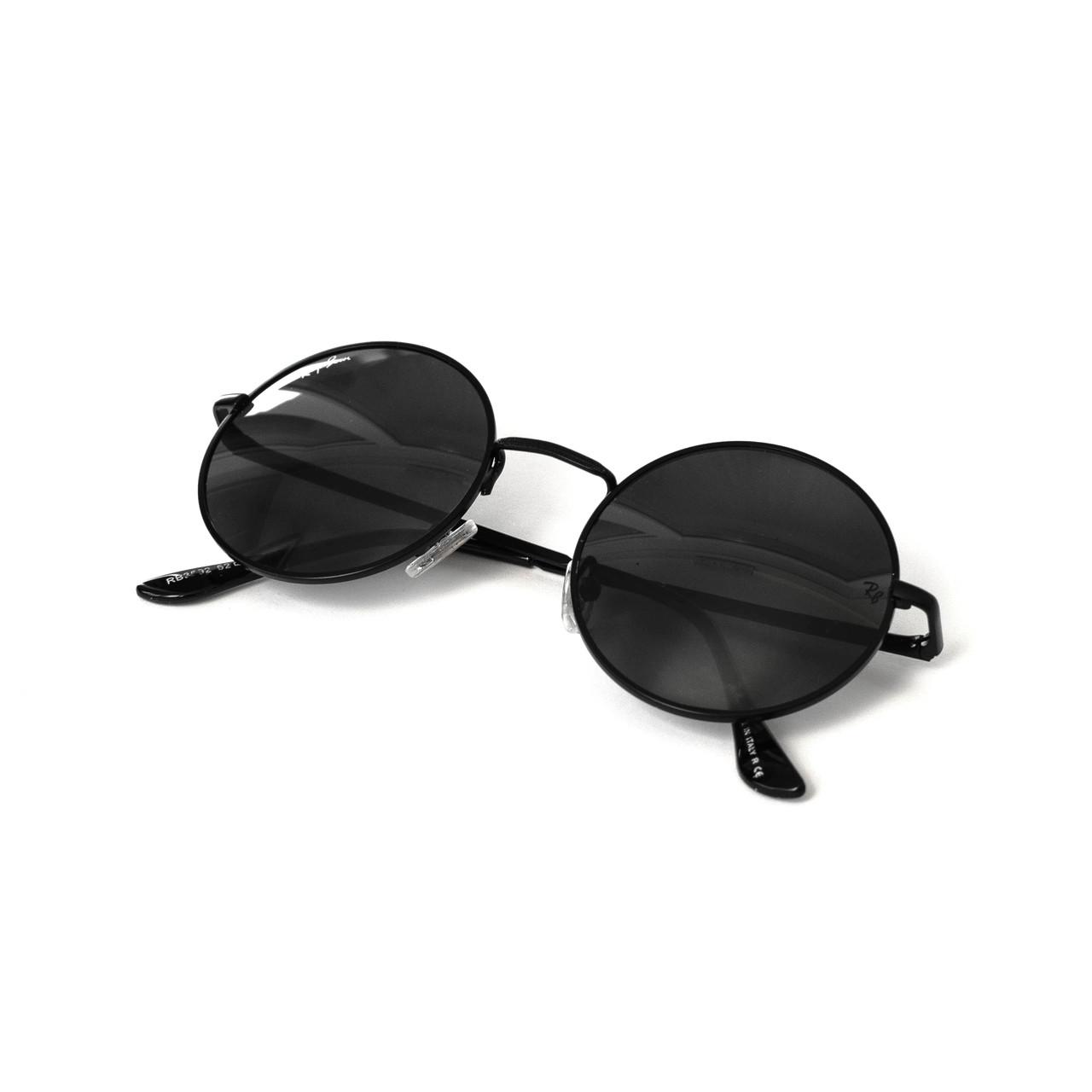 Очки Ray Ban Roud черные (replica)