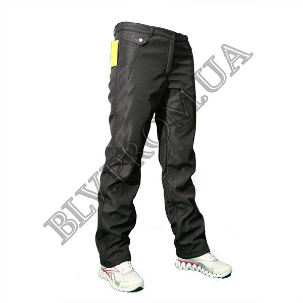Женские теплые брюки на флисе норма  AHR1460