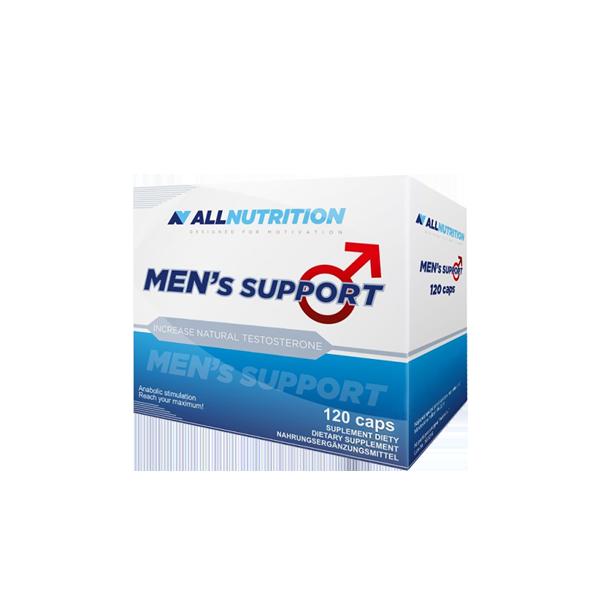 Тестостероновый бустер AllNutrition men's Support 120 caps