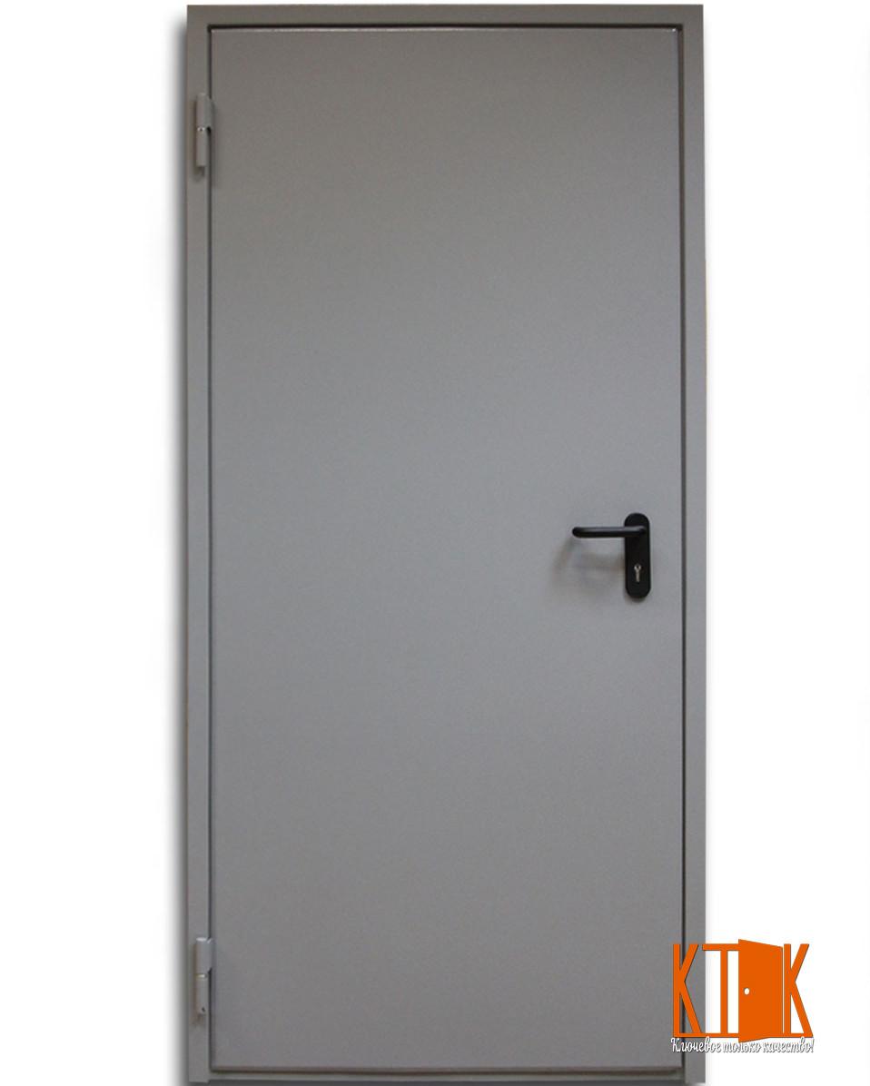 Двери металлические противопожарные  глухие ДМП ЕІ60-1-2100х900