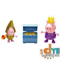 Набор фигурок «Принцесса Пеппа и Сэр Джордж Голд» Peppa 05866-4