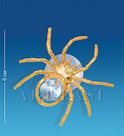 Фигурка с кристаллами Сваровски на магните Паучок 6 см AR-3257