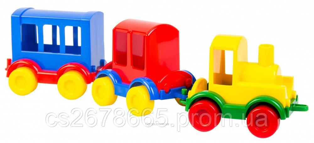 "Паровозик ""Kid cars"" 3 шт. WADER 39260"