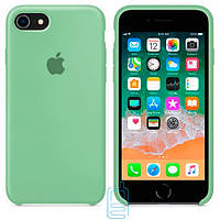 Чехол Apple Silicone Case iPhone 6 Plus, 6S Plus салатовый 01