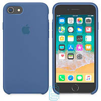 Чехол Apple Silicone Case iPhone 6 Plus, 6S Plus светло-синий 03