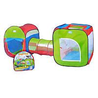 Палатка с тоннелем M 2503 Разноцветная (gr006504)
