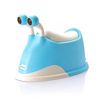 Горшок улитка Babyhood Голубой (EB-311B)