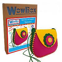 Конструктор-сумочка WowBox Цветочек Разноцветная (sum4)