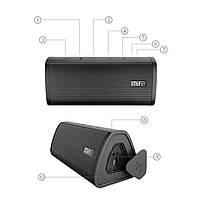 Портативная bluetooth колонка Mifa A10 Graffiti c поддержкой Micro SD карт, фото 5