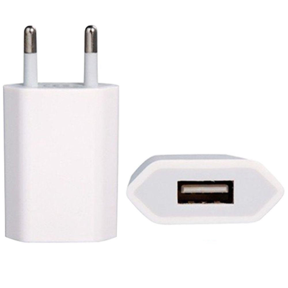 Сетевой адаптер питания USB 1А White High quality