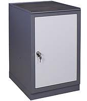 Тумба инструментальная Д (500х600хН850мм),  станочная тумба с дверью