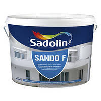 Краска для фасада и цоколя Sadolin Sando F (Садолин Сандо Ф) 10л